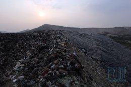 武汉青山区垃圾处理场